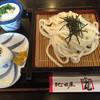 味処 紀の国屋 - 料理写真:ざるうどん=420円 おむすび=100円