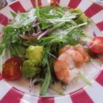 OCTAVAR - サラダ仕立ての前菜