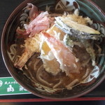 本手打そば 山楽 - 天ぷら おろし蕎麦。オススメです(^_-)-☆