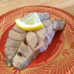 回転寿司 魚河岸 - 大トロ炙り塩