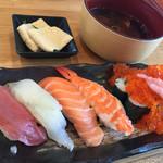 回転寿司 魚河岸 - レディースランチ