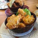 回転寿司 魚河岸 - コーンの唐揚げ