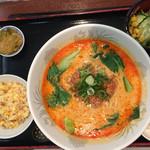 Opus One - 担々麺セット(¥950)