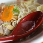 中華そば うさぎ - スープ