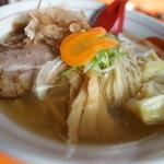 中華そば うさぎ - 追い鰹チャーシューワンタン麺