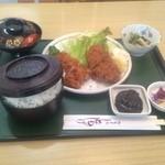 Tomoshige - チキン味噌カツランチ