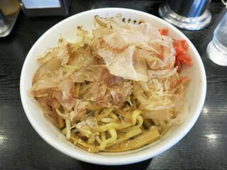 江戸前煮干中華そば きみはん 五反田店 - きみはんのやきそば 750円