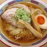 煮干鰮らーめん 圓 名古屋大須店 - 煮干しラーメン@780