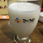 <札幌成吉思汗> 雪だるま - マッコリ