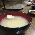 <札幌成吉思汗> 雪だるま - 味噌汁