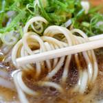 本家 第一旭 - ストレート麺