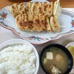 福みつ - 餃子定食 中 ¥1170