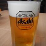 麺処 大章 - 生ビール