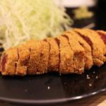 牛カツ専門店 京都勝牛 - 牛ロースカツ京玉膳 並 1490円。