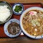 福寿庵 - 料理写真:そば定食 700円