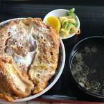 千福食堂 - かつ丼 800円