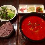 吾照里 - スープ定食ユッケジャンスープ選択の画☆