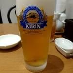 崎陽軒 中華食堂 - 生ビール