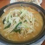 51626850 - 【2016.5.30(月)】味噌野菜らーめん(並盛・160g)637円