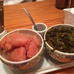 51629116 - 博多明太子、高菜