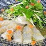 鉄板焼 GAGNER - 鮮魚のカルパッチョ