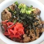 ぎょうてん屋 - 2016年5月 ミニチャーシュー丼 300円