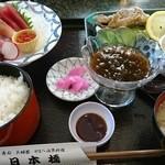 51630882 - 刺身やまべから揚げ定食  ¥2000