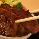 レストランito - ヒレステーキ丼、柔らかい♪