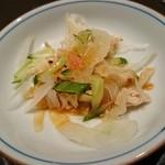 プラチナバード横浜 - 鶏皮ポン酢