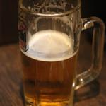 串カツ ゑびす - 生ビール