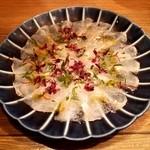 四十八漁場 山王パークタワー店 - 魚のカルパッチョ