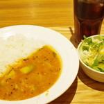 エチオピアカリーキッチン - サンバルセット