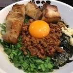 麺屋 こころ - 肉入り台湾まぜそば(税込990円)