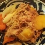 季節料理 西田 - 肉じゃが♪