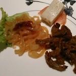 51634414 - [料理] 冷菜3種 全景♪w