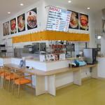 北勝水産 - 食事コーナー