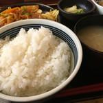 おふくろの味 3・5食堂 - ご飯