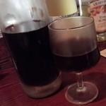 びすとろ 椿々 - カベール、樽詰め生ワイン
