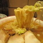 きたかた食堂 - 麺はモチモチ!