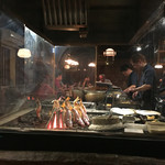 魚秀 - 焼き場