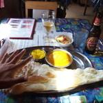 ビラシ - 本日のカレー(チキンと豆腐)