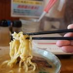 麺屋 春爛漫 - 濃厚海老ラーメンリフトアップ