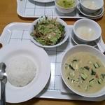 タイ料理 マナ - グリーンカレーセット