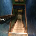かき殻荘 - 2階席から帰る時は要注意。 階段というよりはもはや梯子。 酔いすぎは注意です。