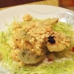 新中国料理 黄龍 - 春野菜のフリット