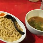 浅草製麺所 - 味噌つけ麺+味玉(500円+クーポン)