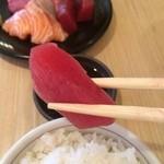 Osaka Teppanyaki Kawano  - まぐろはさておくっす