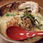 51651190 - 味噌漬け炙りチャーシュー麺