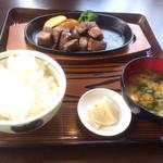 Nikusakabajuraku - 那須和牛サイコロステーキセット150g2500円