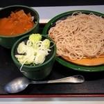 ゆで太郎 - 朝食セット(カレー丼)